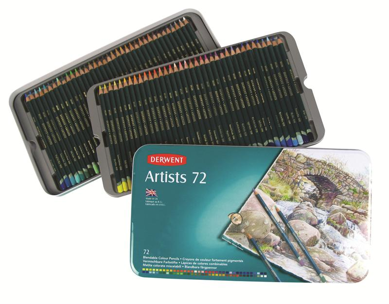 Artists Pencils 72ks Derwent