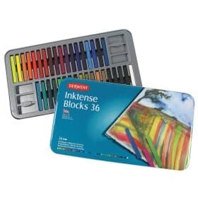 Inktense blocks 36ks Derwent