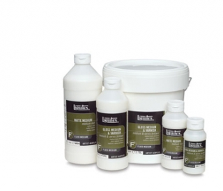 Lesklé medium a lak 237ml Liquitex