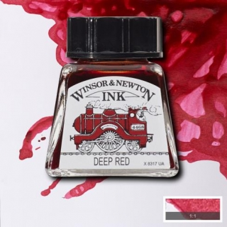 227 Deep red 14ml Drawing ink Winsor and Newton