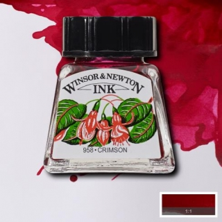 203 Crimson 14ml Drawing ink Winsor and Newton