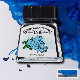 176 Cobalt 14ml Drawing ink Winsor and Newton