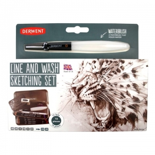 Line & Wash Sketching Set Derwent