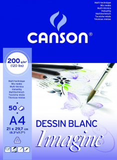 Skicák Imagine 200g/m2 A4 50 listů Canson